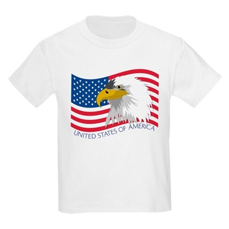 Bald Eagle Kids Light T-Shirt