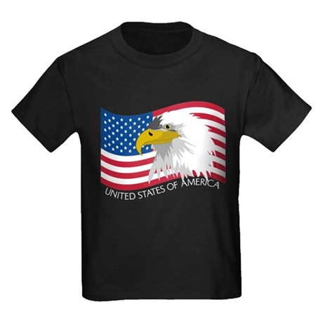 Bald Eagle Kids Dark T-Shirt