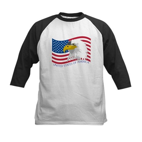 Bald Eagle Kids Baseball Jersey