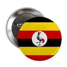 Uganda Flag 2.25&Quot; Button