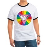 RAINBOW PEACE DOVE Ringer T