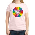 RAINBOW PEACE DOVE Women's Light T-Shirt