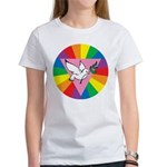 RAINBOW PEACE DOVE Women's T-Shirt