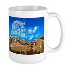 Founding Father In The Sky Mugs