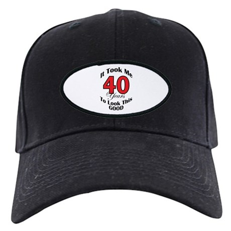 40 years Old Black Cap