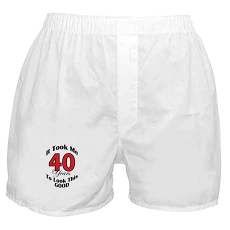 40 years Old Boxer Shorts