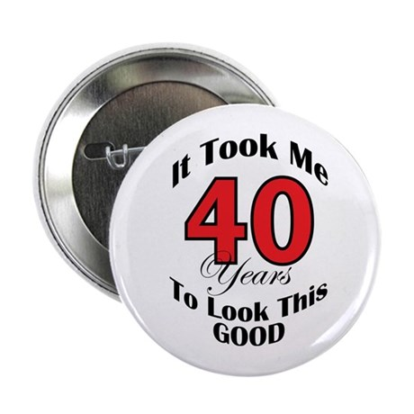 40 years Old Button