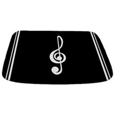 Treble Clef Music Bathmat