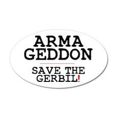 ARMAGEDDON - SAVE THE GERBIL! Z Wall Sticker
