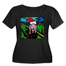 The Christmas Scream Plus Size T-Shirt