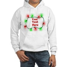Custom Christmas Lights Hoodie