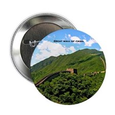 "Great Wall of China 2.25"" Button"