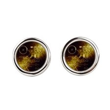 Voyagers Gold Record Cufflinks