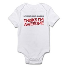 Great Great Grandma Awesome Infant Bodysuit