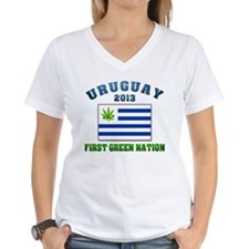 Uruguay First Green Nation 2013 Shirt