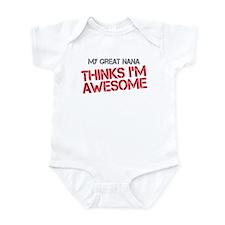 Great Nana Awesome Infant Bodysuit