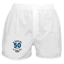 50 Years Old Boxer Shorts