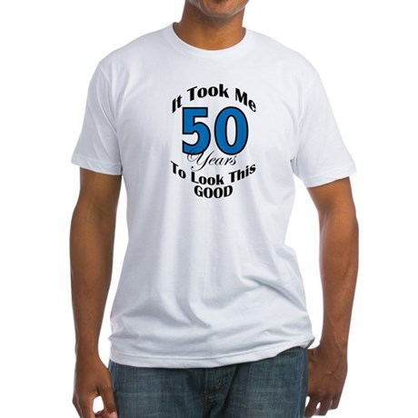 50 Years Old Fitted T-Shirt