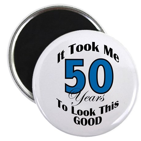"50 Years Old 2.25"" Magnet (100 pack)"