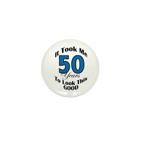 50 Years Old Mini Button