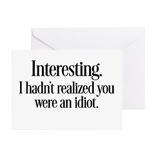 Interesting Greeting Cards (Pk of 20)