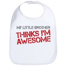 Little Brother Awesome Bib