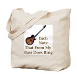 Electric Bass Tote Bag