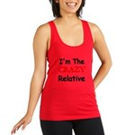 Im The CRAZY Relative 3 Racerback Tank Top