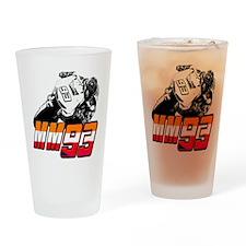 mm93bike3 Drinking Glass