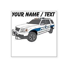 Police SUV Sticker