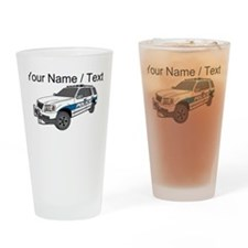 Police SUV Drinking Glass