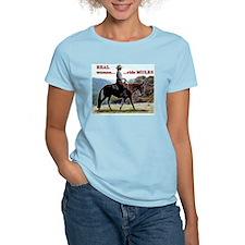 Real Women Ride Mules T-Shirt