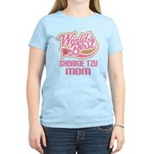 Shorkie tzu Dog Mom T-Shirt