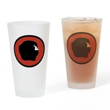 Cute Tres Drinking Glass