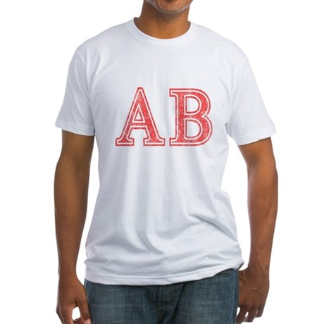 Alpha Beta Fitted T-Shirt