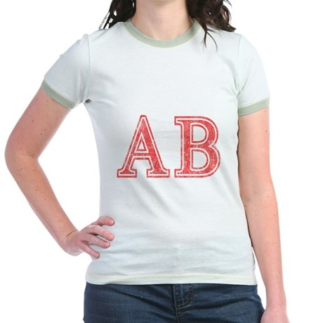 Alpha Beta Jr Ringer T-Shirt
