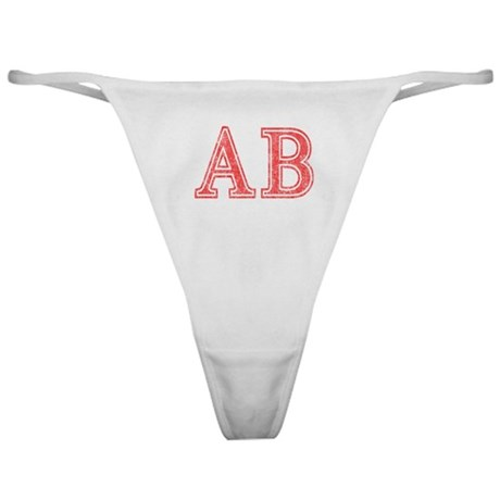 Alpha Beta Classic Thong