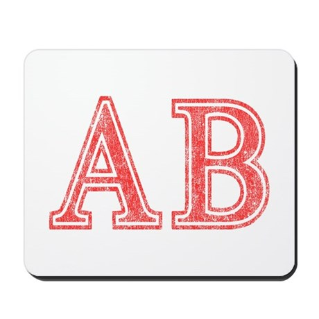 Alpha Beta Mousepad