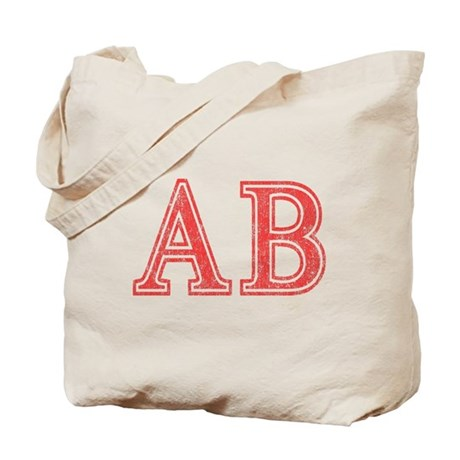 Alpha Beta Tote Bag