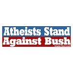 Atheists Against Bush Bumper Sticker