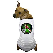 ENGLAND SOCCER CUSTOMIZABLE BRASIL 201 Dog T-Shirt