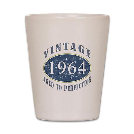 1964 Vintage (Blue) Shot Glass