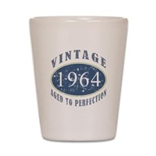 1964 Vintage (Blue) Shot Glass