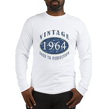 1964 Vintage (Blue) Long Sleeve T-Shirt