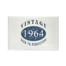 1964 Vintage (Blue) Rectangle Magnet