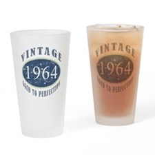 1964 Vintage (Blue) Drinking Glass