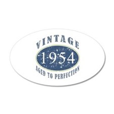 1954 Vintage (Blue) Wall Decal