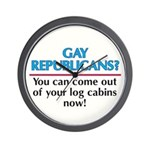 GAY REPUBLICANS? Wall Clock