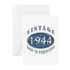 1944 Vintage (Blue) Greeting Cards (Pk of 10)