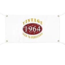 1964 Vintage (Red) Banner